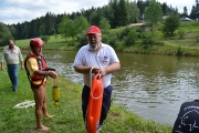Absicherung Fischerstechen Klautzenbach