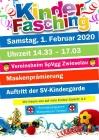 Kinderfasching Spvgg Zwieselau